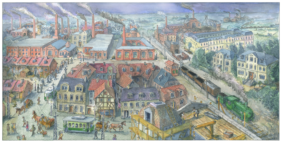 Industrialisierung-um-1900 Cornelsen