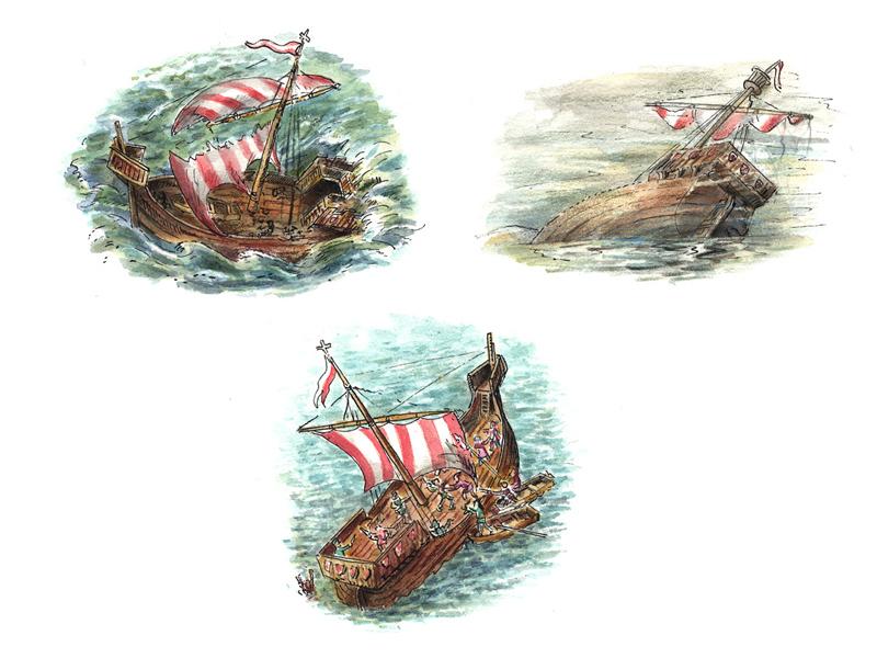 Hansezeit-Gefahren-der-Seefahrt
