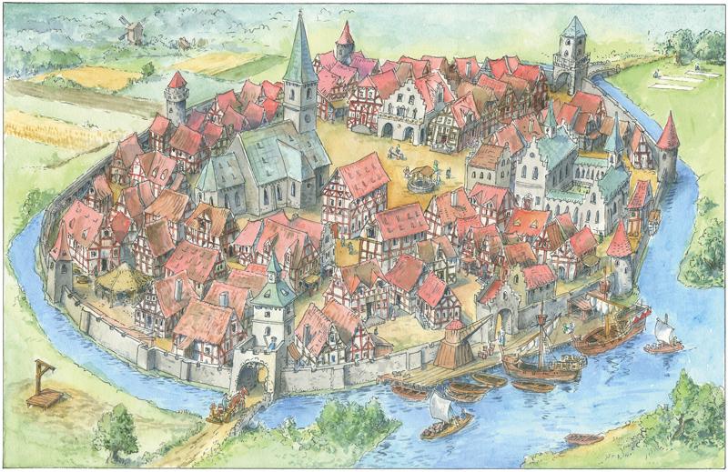kleine_mittelalterliche_Stadt